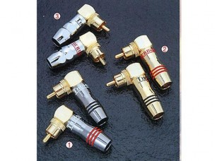 Right Angle RCA Connector