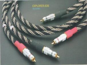 High Performance Audio Signal Cable W/Nylon Web
